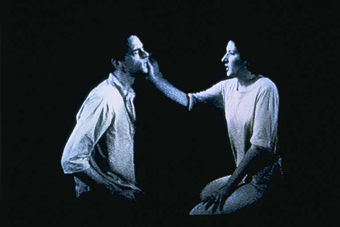Marina Abramovic et Ulay Light/Dark, 1977